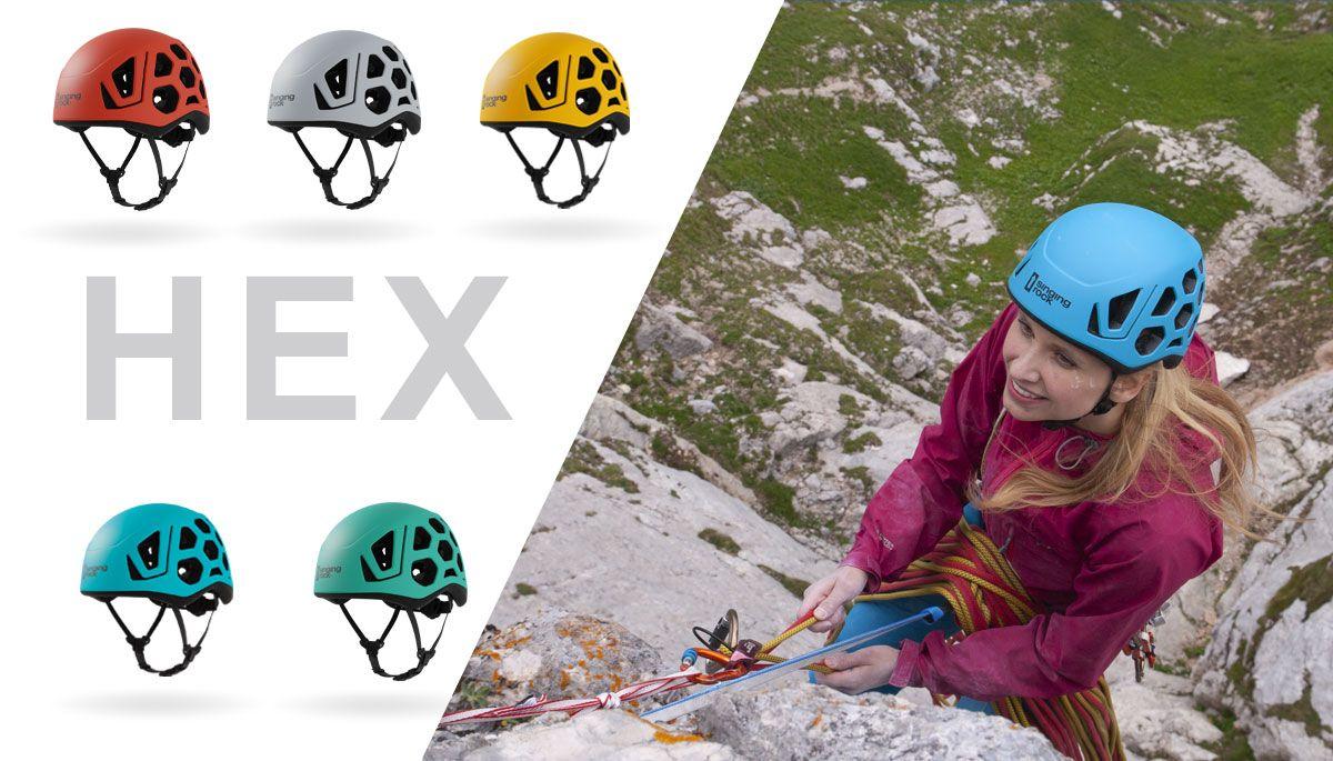 Casco escalada y alpinismo Singing Rock Hex